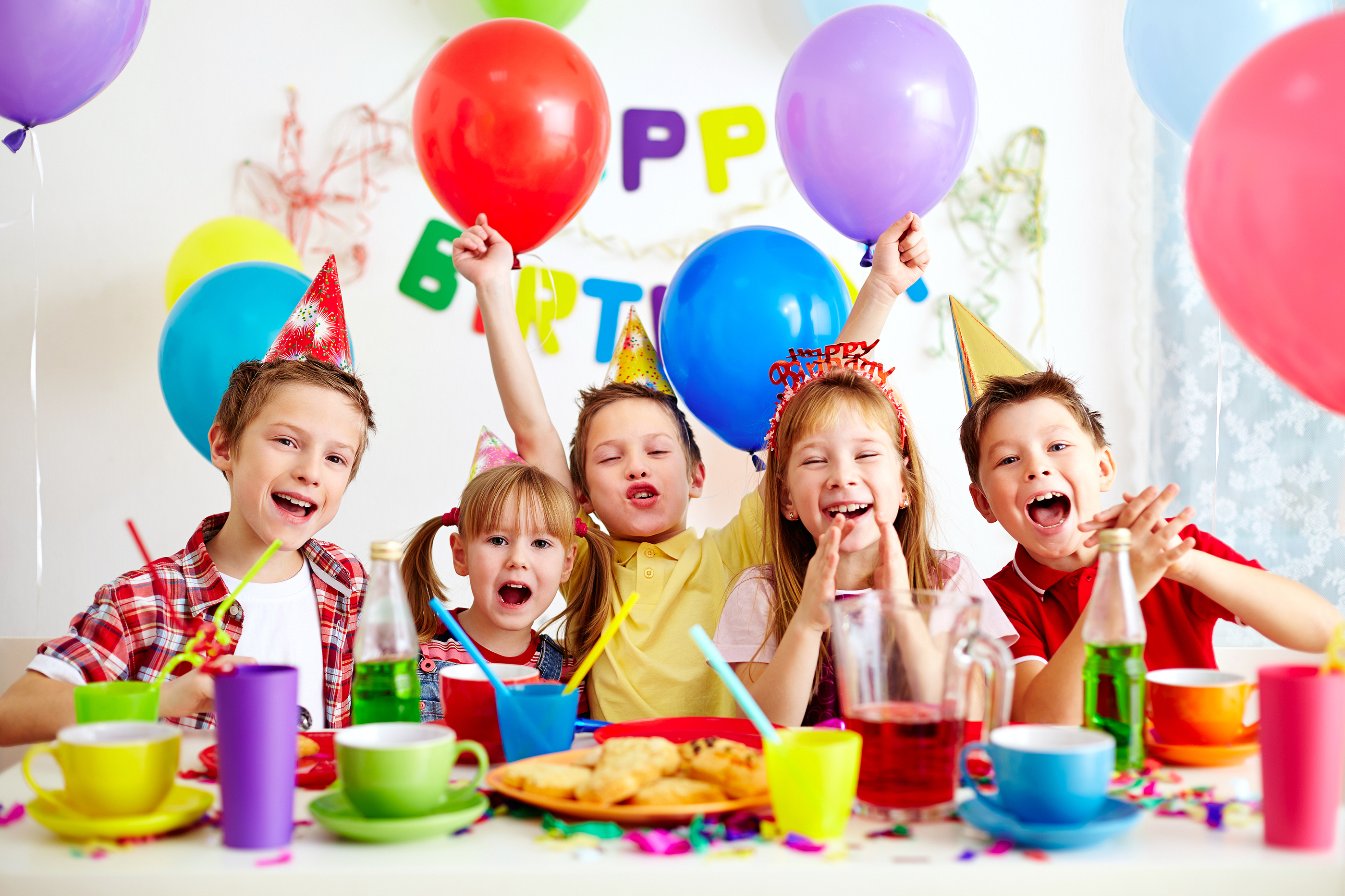 kids birthday party place