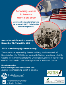 Travel with the J: Becoming Jewish In America